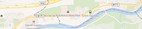 Karte Autohaus Maschler Landeck