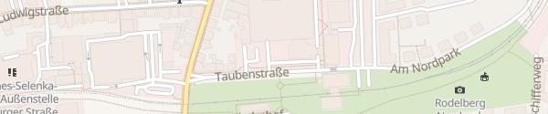 Karte Taubenstraße Braunschweig