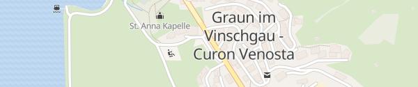 Karte Grafl Straße Graun im Vinschgau