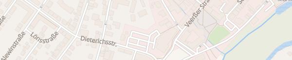 Karte Parkplatz Sparkasse Uelzen