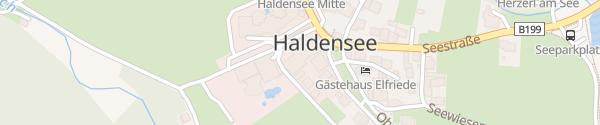 Karte Destination Charger Hotel liebes Rot-Flüh Haldensee