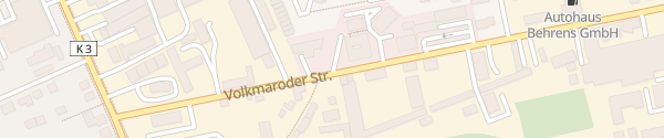 Karte Volkmaroder Straße Braunschweig