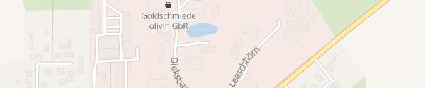 Karte Ferienwohnung Ahrensbök