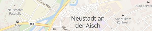 Karte Schnizzersweg Neustadt a.d. Aisch