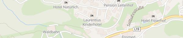 Karte Baby & Kinderhotel Laurentius Fiss