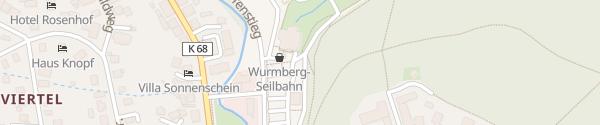 Karte Großparkplatz Braunlage