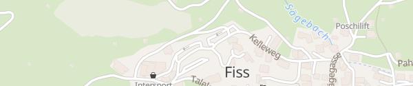 Karte Fisser Bergbahnen Fiss