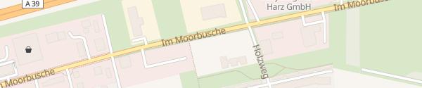 Karte KiTa Moorbusch Cremlingen