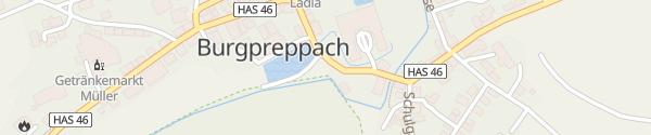 Karte Schloss Burgpreppach