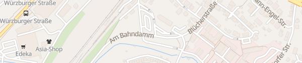 Karte Busbahnhof Suhl