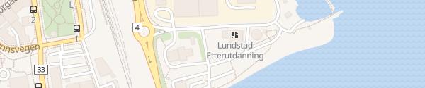 Karte Huntonstranda Gjøvik