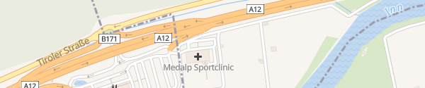 Karte Medalp Sportclinic Mils bei Imst
