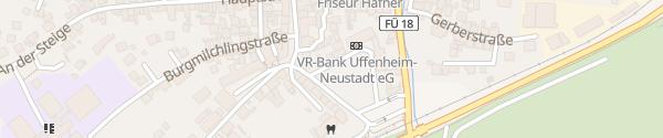 Karte Schlossgarten Wilhermsdorf