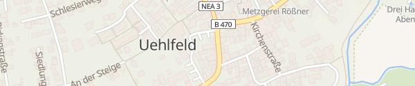 Karte Regionalmarktplatz Uehlfeld