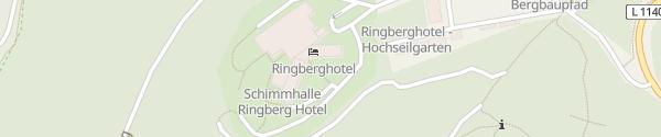 Karte Ringberg Hotel Suhl