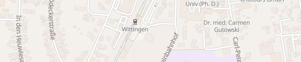 Karte Bahnhof Wittingen
