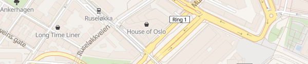 Karte House of Oslo Oslo