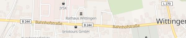 Karte LSW Kundenzentrum Wittingen