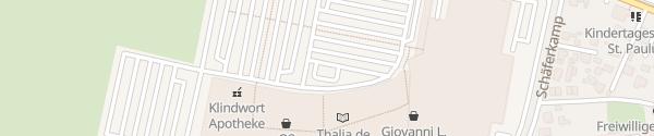 Karte IKEA - LUV Shopping Lübeck