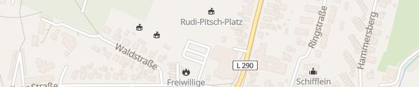 Karte Waldstadion Sereetz Ratekau