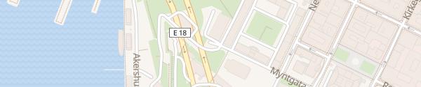 Karte Akershus Parking Oslo