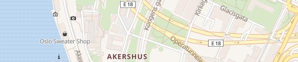 Karte Kongens gate Oslo