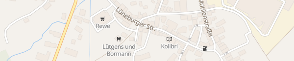 Karte Kundenparkplatz Elektromaterialverkauf Dahlenburg
