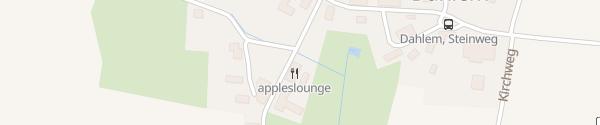 Karte appleslounge Dahlem