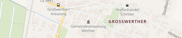 Karte Gemeindeverwaltung Großwerther