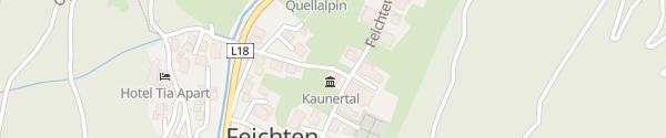 Karte Gemeindeamt Kaunertal