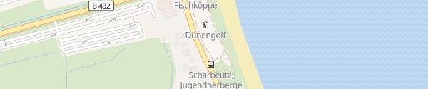 Karte E-Bike Ladesäule Minigolfplatz Scharbeutz