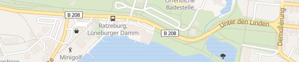 Karte Hotel Der Seehof Ratzeburg
