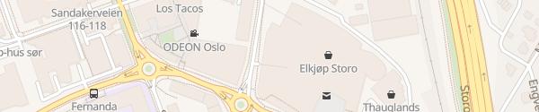 Karte Fortum Ladesäule Oslo