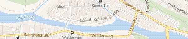 Karte Raiffeisen-Volksbank Donauwörth