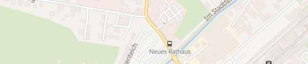 Karte Parkplatz Am Katzenteich Wernigerode