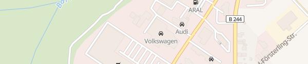 Karte VW Autohaus Wernigerode Wernigerode
