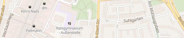 Karte Otto-Wels-Platz Wolfsburg