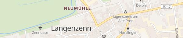 Karte Sanktustorstraße Langenzenn