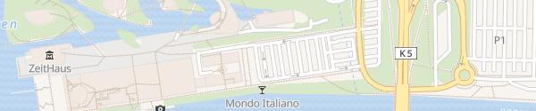 Karte Autostadt Wolfsburg