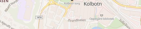 Karte Kolbotn Torg Kolbotn