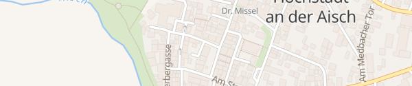 Karte Stadtverwaltung Höchstadt