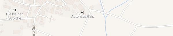 Karte Autohaus Geiß Bad Rodach