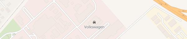 Karte VW Autohaus Wille Wernigerode