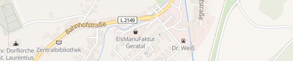 Karte Schröders Imkerladen Gräfenroda