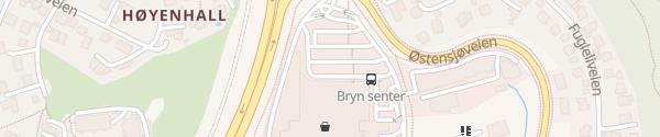 Karte Bryn Senter Oslo