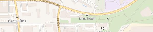 Karte Thon Hotell Linne Oslo