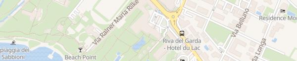 Karte Hotel  Du Lac et Du Parc Grand Resort Riva del Garda