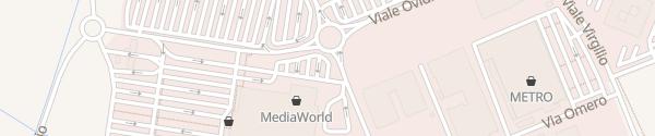 Karte Grandemilia Modena
