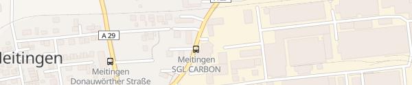 Karte SGL Carbon Meitingen