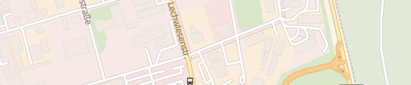 Karte Graf-Zeppelin-Straße Landsberg am Lech